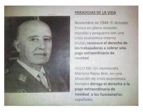 Twitter / MaceroHector: Francisco Franco Bahamonde, ... | Partido Popular, una visión crítica | Scoop.it