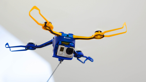 Fotokite Phi Is A $349 Drone On A Leash That Needs No Pilot, Just A GoPro | Robolution Capital | Scoop.it