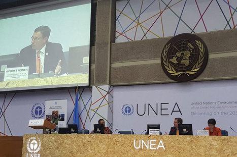 A l'Assemblée des Nations unies pour l'environnement, le PNUE réclame un avenir plus vert pour tous | Territoires durables | Scoop.it