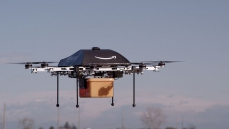 Amazon reveals AI air drone capable of delivering goods to customers within 30 minutes of ordering | Amazing Science | Scoop.it