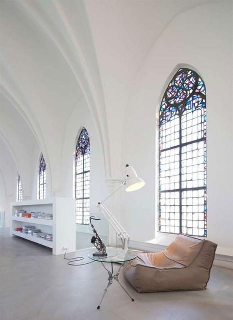 Un loft dans l'église | La minute déco | la minute deco | Scoop.it