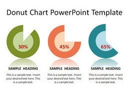 Free Donut Chart PowerPoint Template | dfdf | Scoop.it