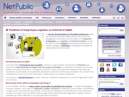Pearltrees et Scoop.It pour organiser sa recherche d'emploi | Websourcing.fr | Le Microbloging en 3.0 ! | Scoop.it