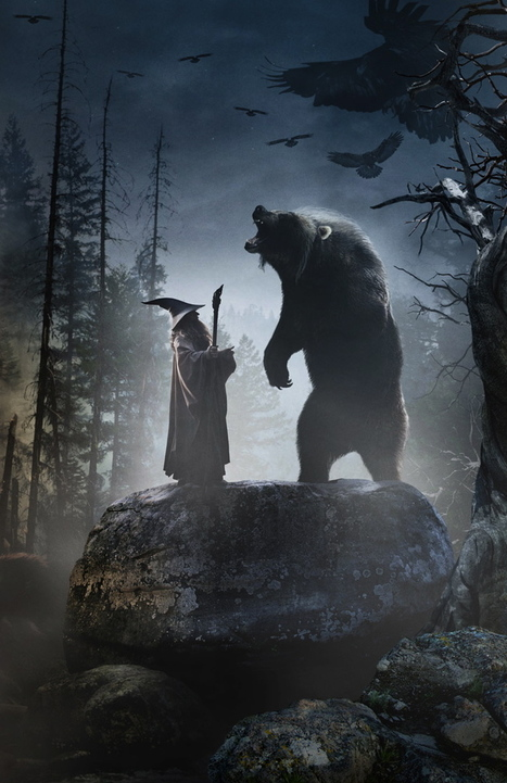 SD calendar reveals a new image of Beorn? In human form? - TheOneRing.net | 'The Hobbit' Film | Scoop.it
