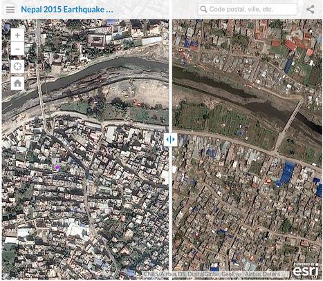 Carte interactive ÉPOUSTOUFLANTE: Le Népal avant et après le tremblement de terre. | URBANmedias | Scoop.it