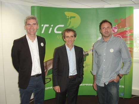 Alain Prost rencontre les champions de l'innovation  de la TIC Valley ! | Technologies numériques et innovations | Scoop.it