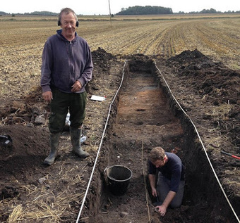 The Archaeology News Network: Anglo-Saxon 'island' settlement discovered | Histoire et archéologie des Celtes, Germains et peuples du Nord | Scoop.it