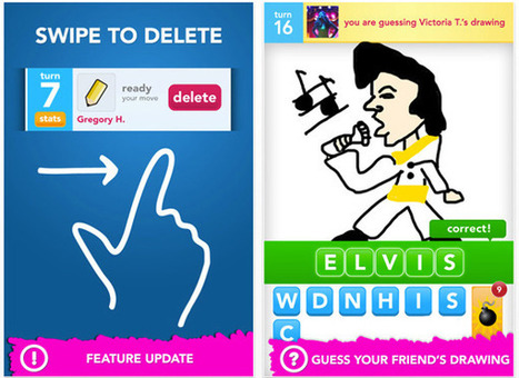 Draw Something Updates With Set Of Five New Features | Winning The Internet | Scoop.it