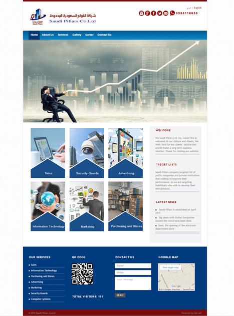 تطوير موقع الكتروني لشركة قوائم السعودية | دوت يو اي دي – شركات تصميم مواقع الكترونية | أعمالنا و خدماتنا | Scoop.it