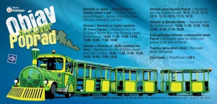 Turistický vláčik opäť v uliciach Popradu | Poprad Tatry | Scoop.it