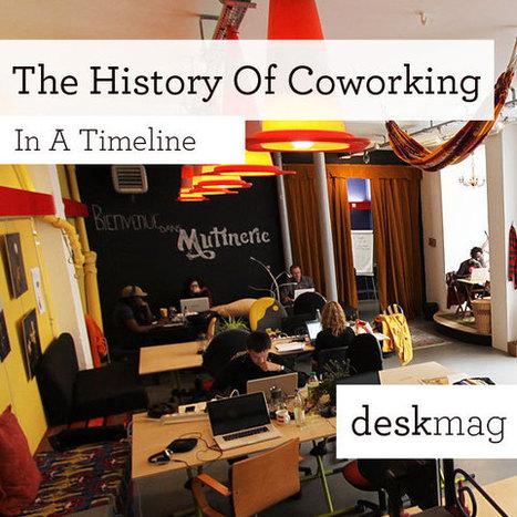 The History Of Coworking - Presented By Deskmag | Nouveaux lieux, nouveaux apprentissages | Scoop.it