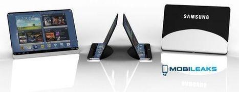 Un concept de tablette avec écran flexible chez Samsung | Social and digital network | Scoop.it