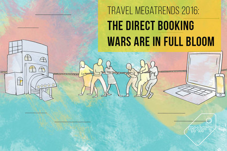 Skift Travel Megatrend for 2016: The Direct Booking Wars Are in Full Bloom | Tourism marketing | Scoop.it