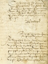 Archives départementales du Cantal : acquisition d'un terrier de la seigneurie de Paulhagol (1553-1555) | Rhit Genealogie | Scoop.it