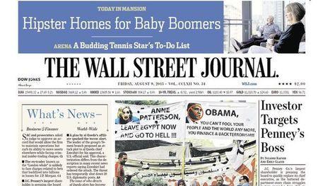 Le Wall Street Journal,pionnier du numérique payant - Le Figaro | L'innovation dans les rédactions - Vers un nouveau journalisme | Scoop.it