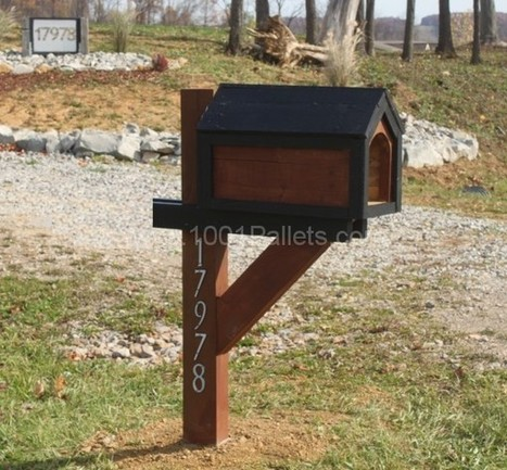 Mailbox from Pallets | DIY | Scoop.it