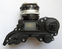 3D printed open SLR camera | 3D-Print Tech | Scoop.it