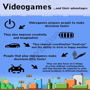 Video games and their advantages | Impacts of the Internet on social wellbeing and brains | Scoop.it