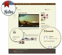 Themify Notes - iPhone Notes App Styled Blog Theme | WordPress Themes Review | Scoop.it