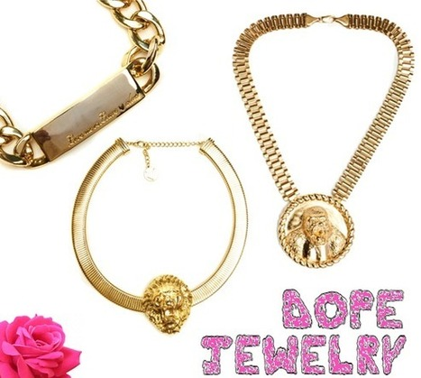 erensnchz: ALL GOLD ERRTHANG: Favorite Jewelry Picks | dope | Scoop.it