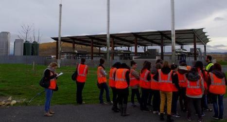 Castres. Des éco-lycéens de la Borde Basse en visite à Trifyl | La Borde au coeur de l'Actu. | Scoop.it