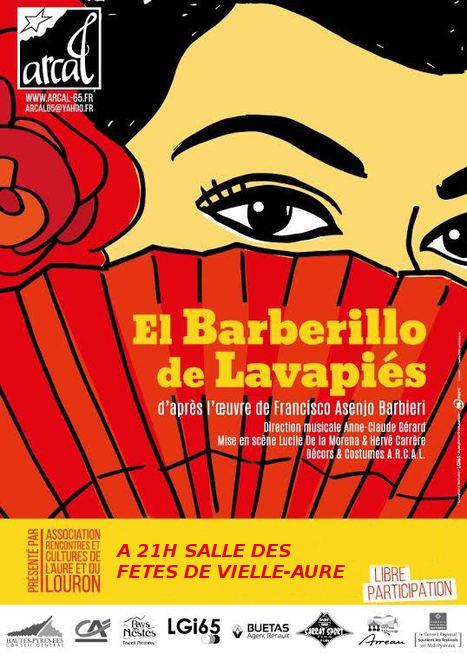 Opérette espagnole à Vielle-Aure le 28 août | Vallée d'Aure - Pyrénées | Scoop.it