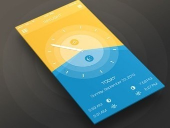 43 Stunning Mobile App UI Designs Inspiration | UI Design | Scoop.it