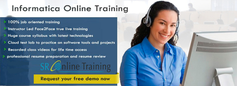 Online Informatica Training   Sr Online Training   Scoop.it