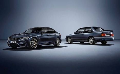 BMW '30 Jahre M3' Limited Edition Model Unveiled - News | Business Video Directory | Scoop.it