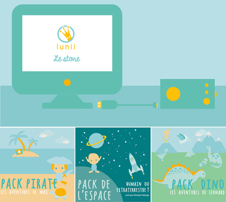 Lunii, l'e-conteur d'histoires pour enfant en campagne de financement - Les Numériques | Littératures numériques en Bibliothèque ? | Scoop.it