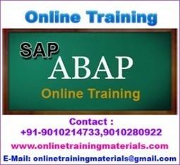 SAP ABAP online training institute in Ameerpet, SAP ABAP Online Training Institute from Hyderabad India.   Online Training Materials   Online Training   Scoop.it