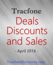 TracfoneReviewer: Tracfone Sales and Deals for April 2016 | Tracfone Reviews and Promo Codes | Scoop.it