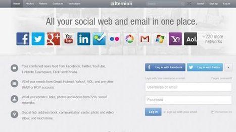 Alternion 2.0, un único acceso a multitud de aplicaciones online | Tic, Tac... y un poquito más | Scoop.it