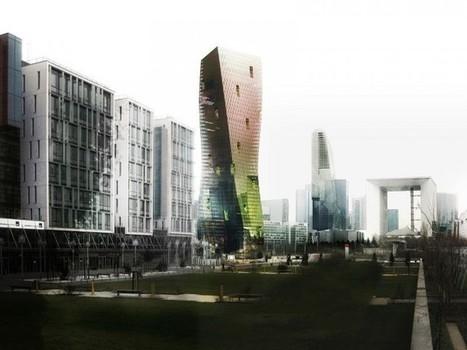 La France se lance dans les façades écologique en micro-algues   Paris durable   Scoop.it