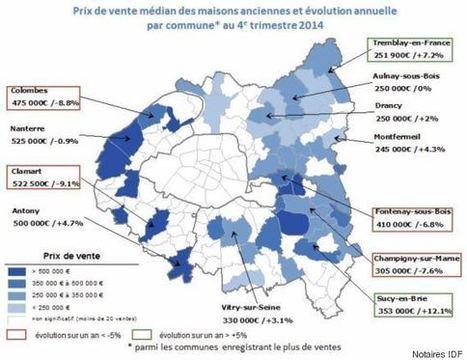 Prix de l'immobilier: le détail des baisses à Paris, arrondissement ... - Le Huffington Post | sinatra.patrimoine | Scoop.it