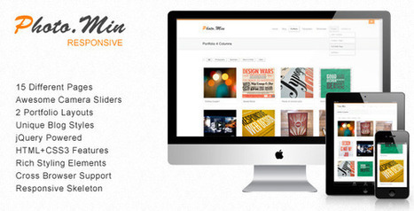 Themeforest Freebie: Photomin - Responsive HTML Template For FREE ($16 Value) | Newest Download | Programming Tutorials | archer.web.id | Scoop.it