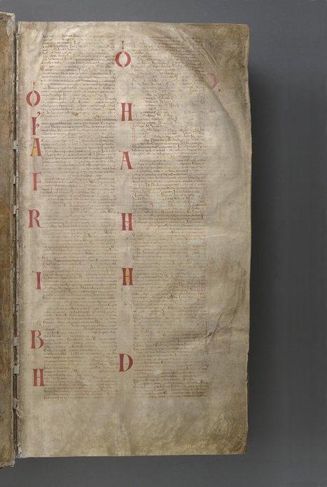 Biblia del Diablo — Visor — Biblioteca Digital Mundial | Diseño y tipografía | Scoop.it