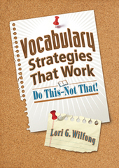 Book Review: Vocabulary StrategiesThat Work: Do This - Not That! | vocabulary | Scoop.it