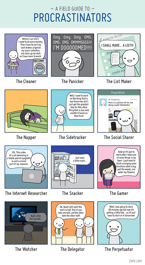 A Field Guide to Procrastinators - in a Digital World | Digital Marketing Trends & Insights | Scoop.it