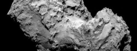 El cometa 67P, tan oscuro como el asfalto   Ciència al CFA Palau de Mar   Scoop.it