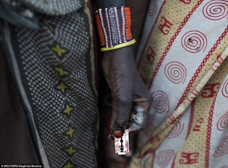 Young girls lined up to undergo tribal circumcision ceremony in Kenya | SocialAction2015 | Scoop.it