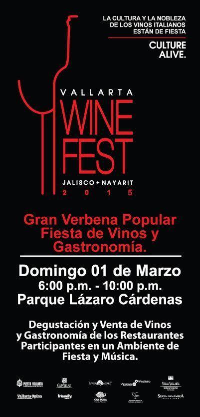 VII Vallarta Wine Fest - 2015 Puerto Vallarta Event Calendar | Puerto Vallarta | Scoop.it
