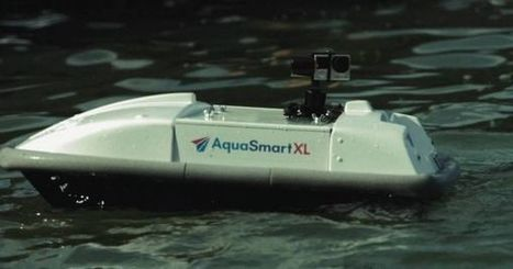 """Waste Shark"" Among New Aquatic Drone Fixtures in Rotterdam Port 
