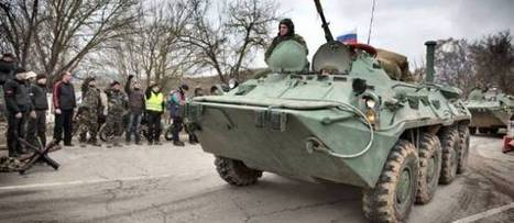 La base ukrainienne de Feodossia en Crimée prise d'assaut par les ... - Le Point | la crimée | Scoop.it