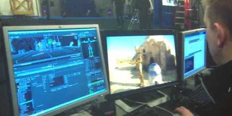 See How Lucasfilm Uses Video Game Tech To Create Amazingly Realistic Movies - Business Insider   Games   Scoop.it