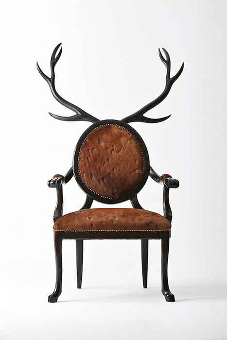 Hybrid chairs bring out the mythological animal in you | D_sign | Scoop.it