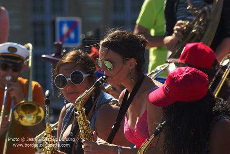 Le Festival de Fanfares à Bordeaux en images | Bordeaux Gazette | Scoop.it