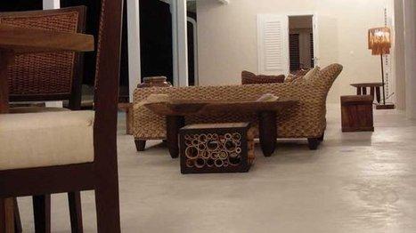 [revêtement] Le béton dans toutes les pièces de la maison | Immobilier | Scoop.it