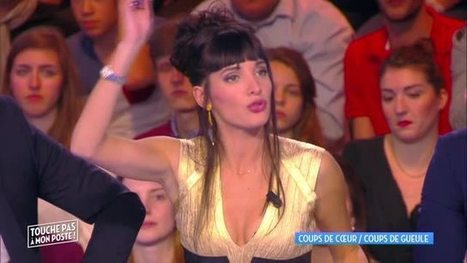 Photos : Erika Moulet en décolleté sexy dans TPMP | Radio Planète-Eléa | Scoop.it