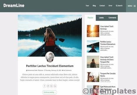 DREAMLINE | Blogger themes | Scoop.it